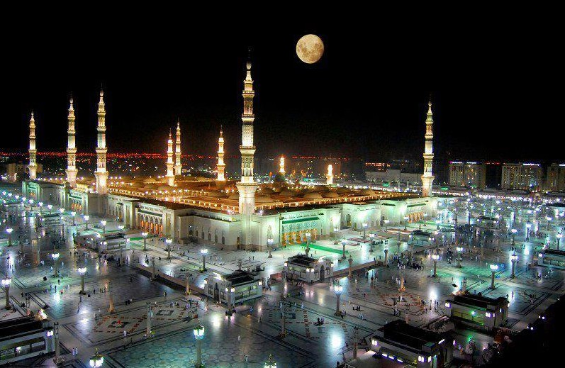 Photos Of Madina A Dreamy Night View Of Masjid An Nabawi Mad